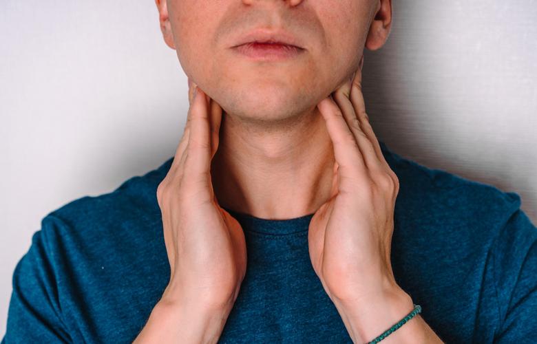 Mögliches Anzeichen für Krebs: geschwollene Lymphknoten